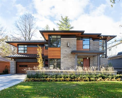 contemporary home exterior overhang contemporary exterior toronto by david