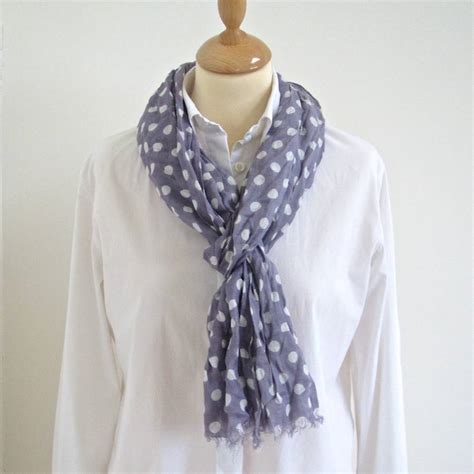 classic spotty scarf by chapel cards notonthehighstreet