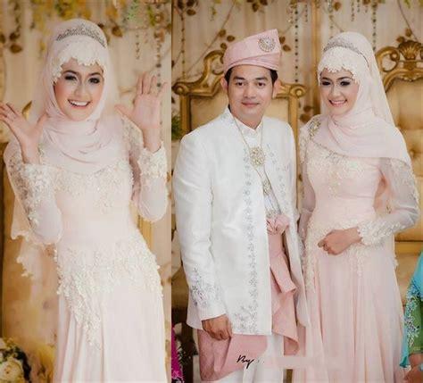 Gaun Wedding Prewedding Wanita Costum Pengantin Pria trend model baju pengantin muslim 2016 yang memukau