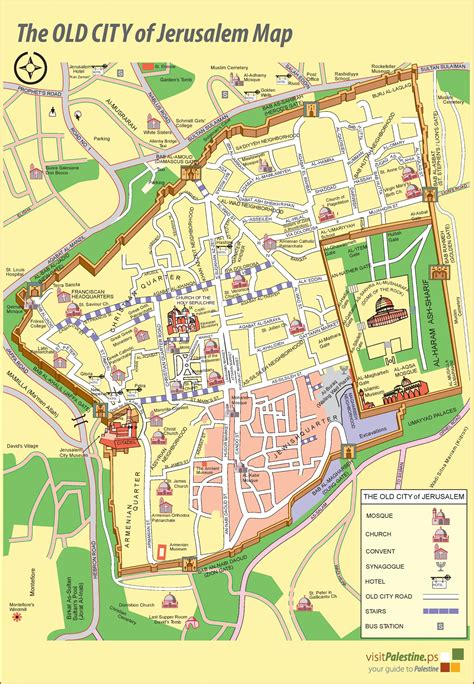 map city of jerusalem city map