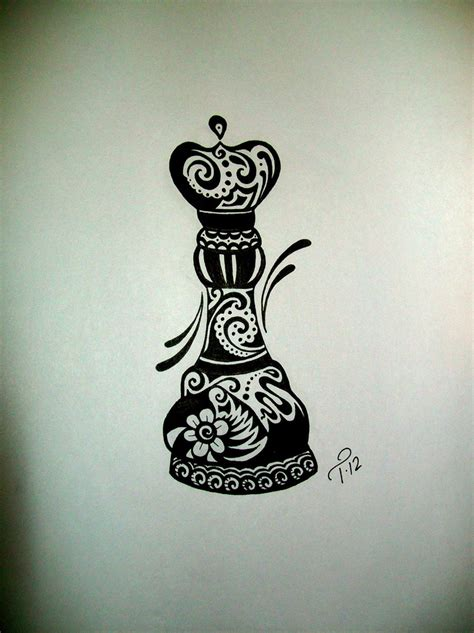 tattoo queen chess piece the gallery for gt king and queen chess pieces tattoo