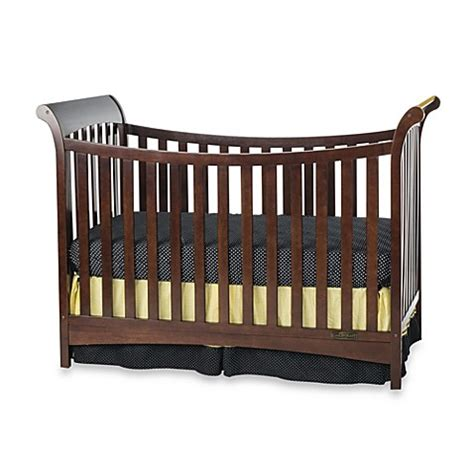 Convertible Sleigh Bed Crib Child Craft Coventry Traditional 3 In 1 Convertible