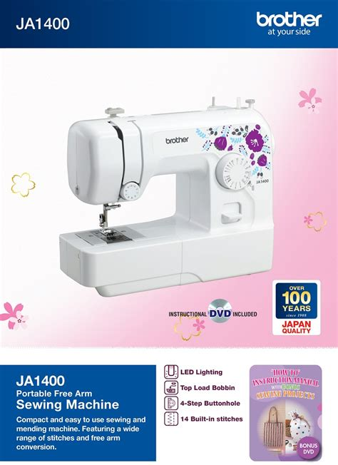 Mesin Jahit Ja1400 home sewing machine and embroidery machine dealer
