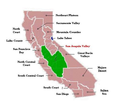 california map san joaquin valley san joaquin valley california map california map