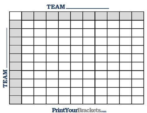 100 Square Football Pool Template printable ncaa football bcs squares 100 grid office pool