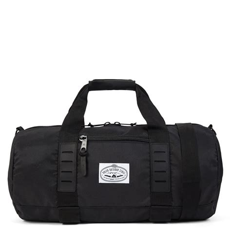 Poler Clasic Cary On Duffel Black Pol117 1000129213c17y classic carry on black duffel burgundy