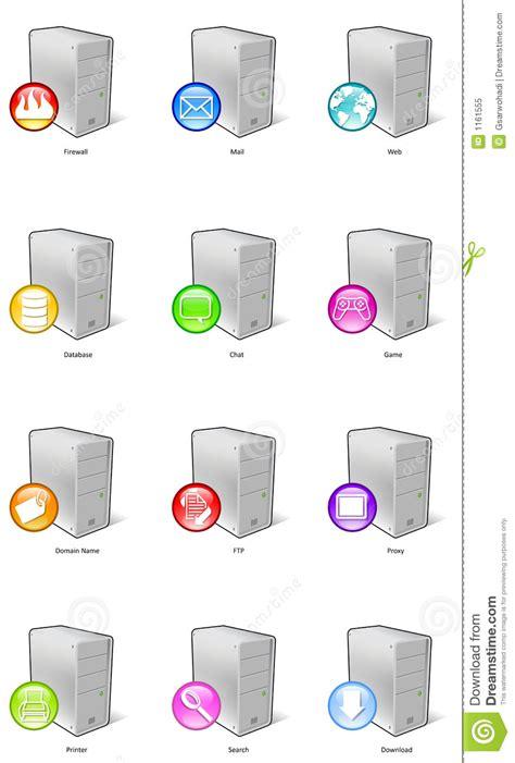 server icons royalty  stock photo image