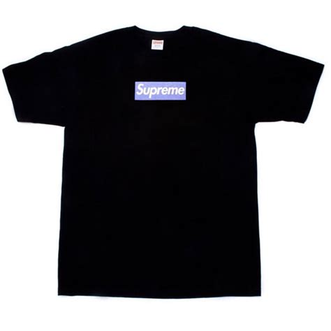 Supreme Purple Box Logo Built Up T Shirt Quality 1 1 supreme museum