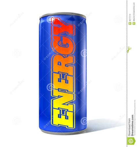 energy drink can energy drink can stock illustration image 46777174