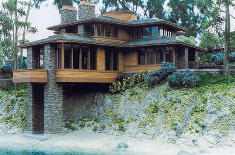 frank lloyd wright prairie house plans this i love this exterior windows siding yes stone