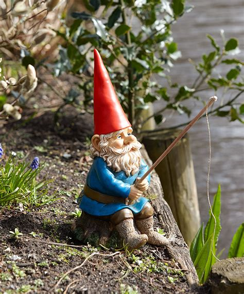 garden gnome buy rien poortvliet 174 garden gnome with fishing rod