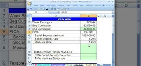 wage deductions calculator excel hacks tips tools for streamlining your spreadsheets