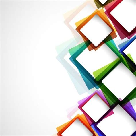layout abstrato vetor colored box abstract background vector free download