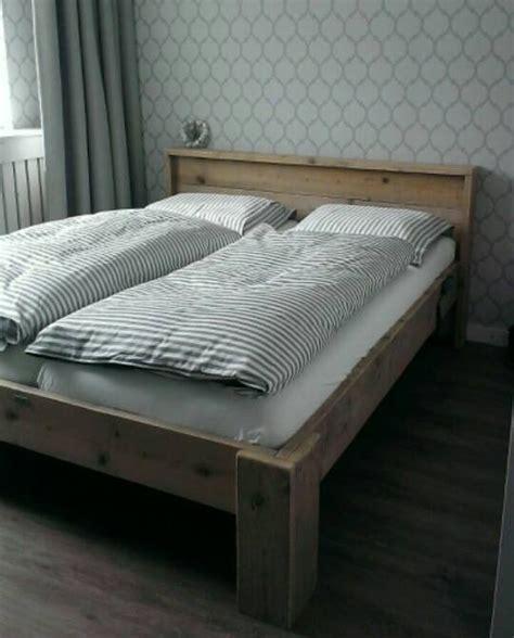 steigerhout bed 2 persoons steigerhouten bed 2 persoons enkel www woonenstyling nl
