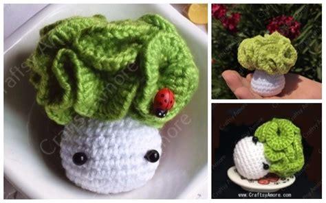 easy crochet cabbage doll amigurumi  pattern tutorial
