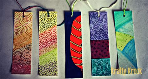 Handcrafted Bookmarks - krafty krook bookworms for bookworms handmade bookmarks