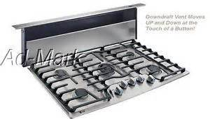 5 Burner Gas Cooktop With Downdraft Downdraft Gas Cooktops 36 Details About Lg 36