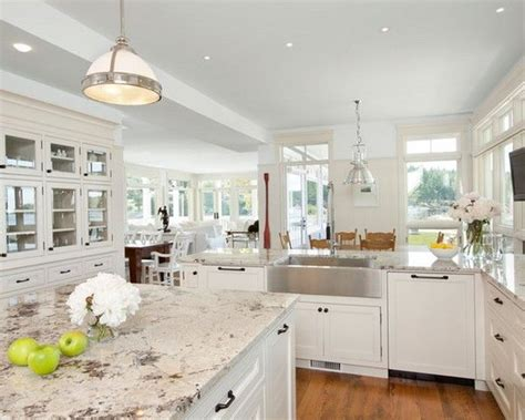 pictures of white kitchen cabinets with granite countertops 15 best pictures of white kitchens with granite