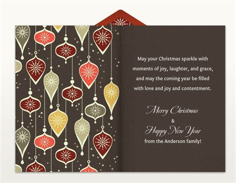 Business Greeting Card Wording