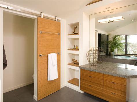 Modern Bathroom Door Ideas Sliding Door Ideas Bathroom Contemporary With Blue Vessel