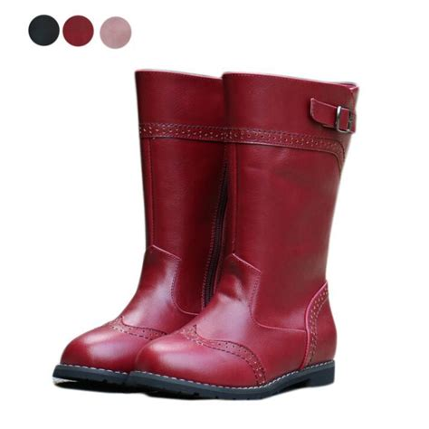 fashion children boots boots high quality pu leather