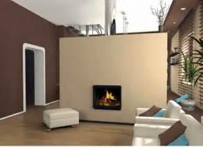 accent kamine wandfarbe braun 31 wohnzimmer ideen