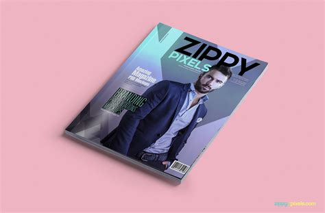 15 Amazing Psd Magazine Mockups For Cover Ad Designs Zippypixels Magazine Cover Mockup Template