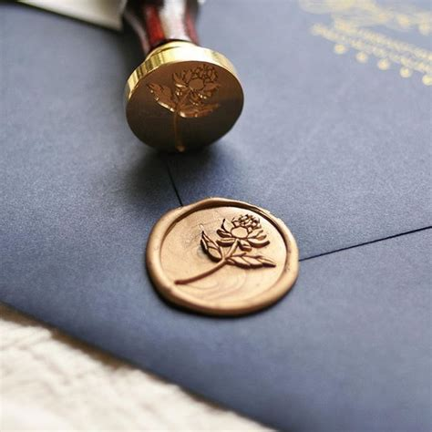 stampitude custom wax seals stamps  stickers