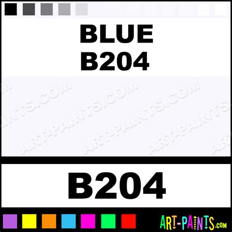 Artist Colors B204 blue b204 artist pastel paints b204 blue b204 paint