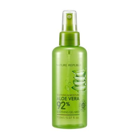 Nature Republic Soothing Moisture Aloe Vera 92 Soothing Gel Mist soothing moisture aloe vera 92 soothing gel mist