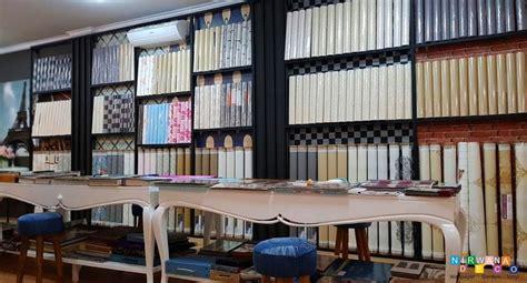 Wallpaper Dinding Minimalis Bahan Tebal Motif Timbul Emboss dekorasi interior wallpaper gordyn gorden nirwana deco jogja