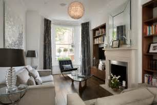 Living room victorian terrace by ns interiors