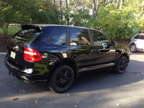 porsche cayenne blacked out blacked out the cayenne this weekend 6speedonline