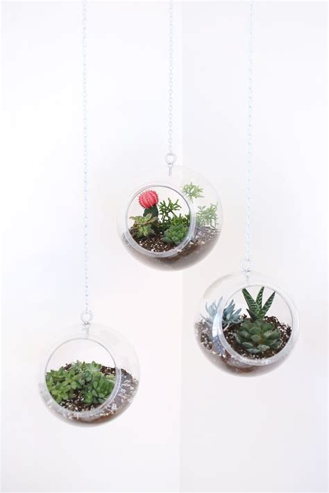 how to make hanging planters hanging planter made with plastic fishbowls a