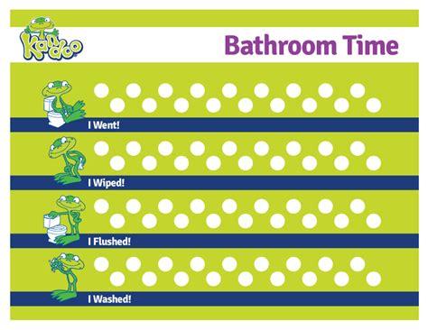 bathroom chart kandoo toolkit kandoo kids