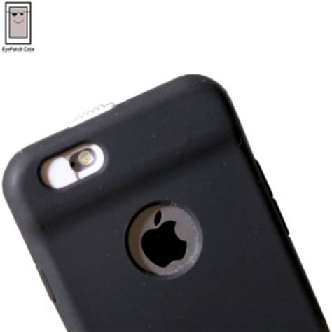 eyepatch iphone 6s / 6 camera lens privacy case black