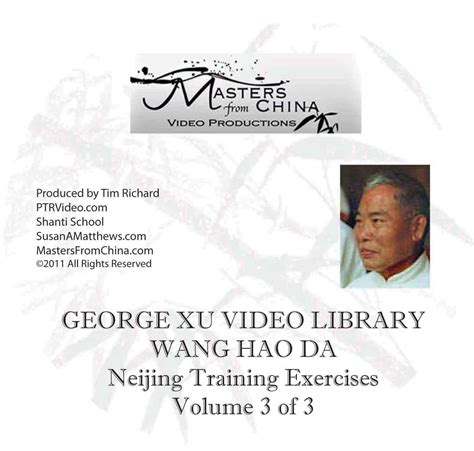 preparing a small of volume 3 books grandmaster wang hao da treasure on dvd