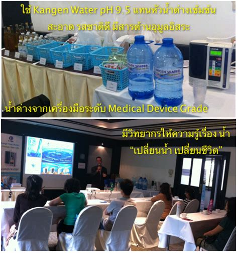 Kangen Water Detox by Detox Course 187 Kangen Water Enagic Thailand