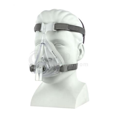 Cpapcentral Com Quattro Air For Her Full Face Cpap Mask With Headgear Cpap Mask Fitting Template