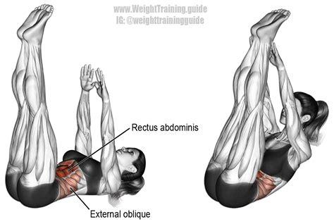 vertical leg crunch exercise instructions  video