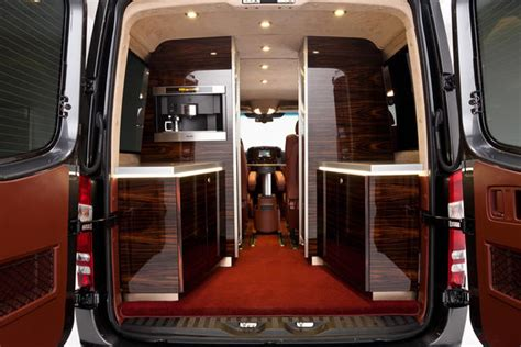 Mercedes Sprinter Custom Interior by Hartmann Mercedes Sprinter