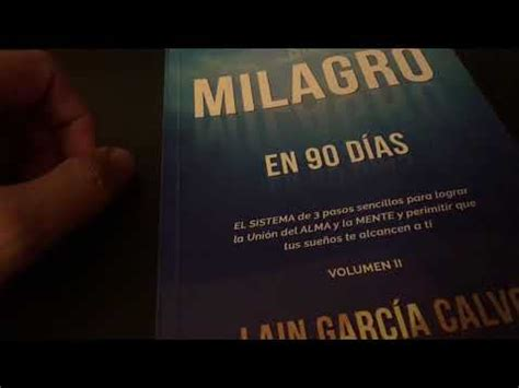 libro un milagro en 90 lee conmigo un milagro en 90 d 205 as youtube