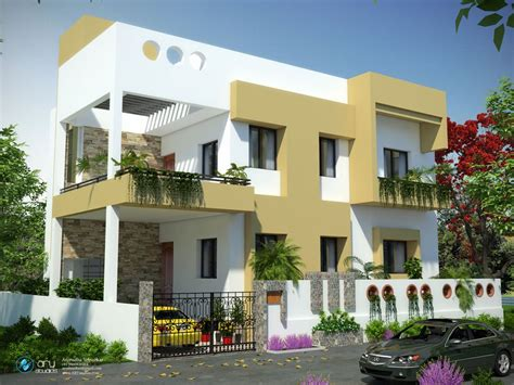3d home design software india 3d exterior architectural rendering of residential