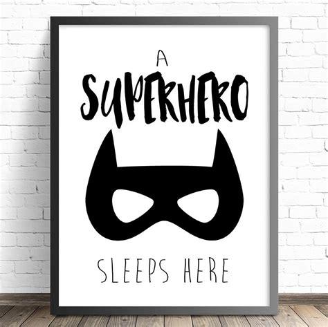 boys bedroom wall decor the kids print store superhero nursery prints