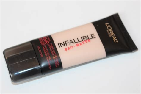 L Oreal Foundation Infallible Pro Matte l oreal infallible pro matte foundation review really ree