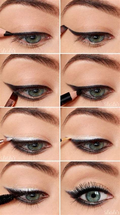 Eyeliner Tutorial Beginners | 20 simple easy step by step eyeshadow tutorials for