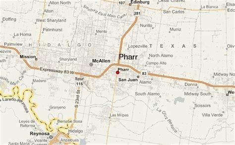 where is pharr texas on the map gu 237 a urbano de pharr