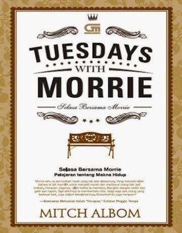 Mitch Albom Sang Penjaga Waktu the bookoo island review novel tuesdays with morrie selasa bersama morrie mitch albom