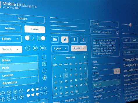 blueprint app mobile ui blueprint freebie by lorenzo buosi dribbble
