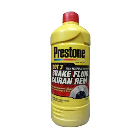 jual prestone dot 3 brake fluid neutral minyak rem merah